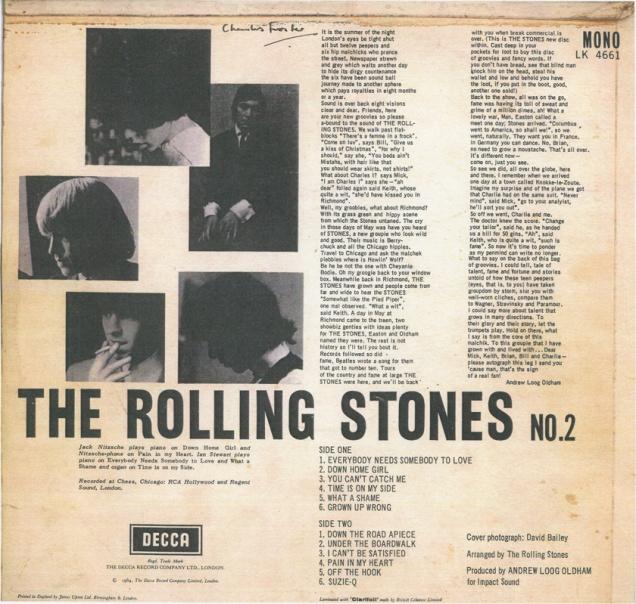 Stones back lores