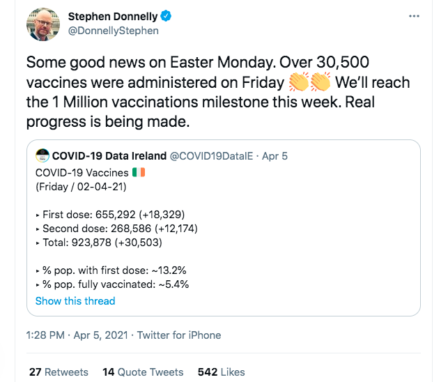 Donnelly Twitter