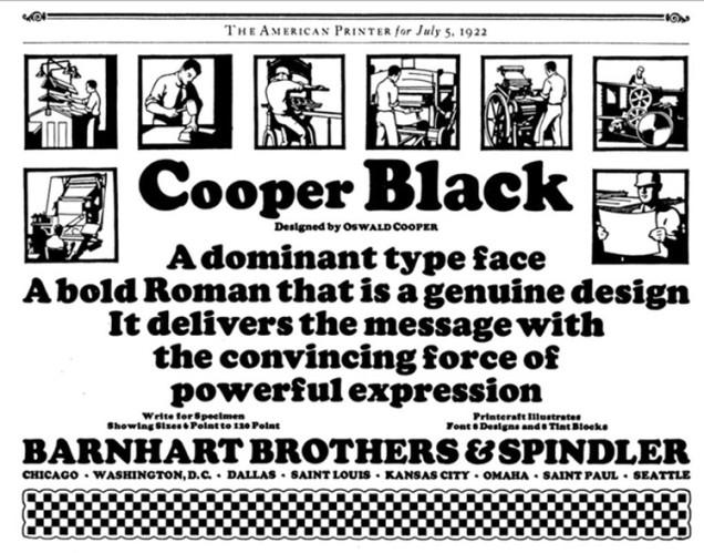 Cooper AmPrinter ad